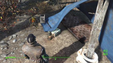 mattress fallout 4