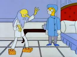 mr burns kleenex box shoes